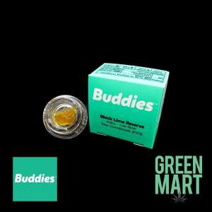 Buddies Brand Live Resin - Black Lime Reserve Front