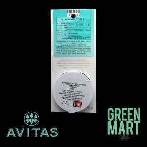 Avitas Pax Pod - Butterscotch Cookies Back
