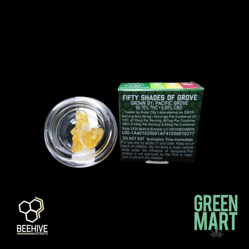 Beehive Extracts - Fifty Shades of Grove Back