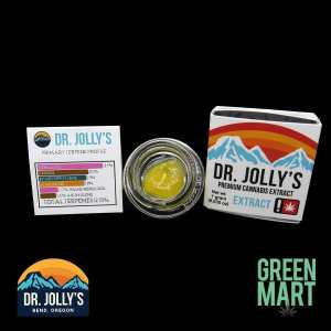 Dr. Jolly's Extracts - Jungle Cake Back