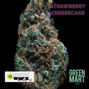 Strawberry Cheesecake by Emerald Cannabis Worx