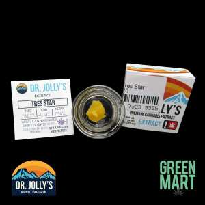 Dr. Jolly's Extracts - Tres Star Front