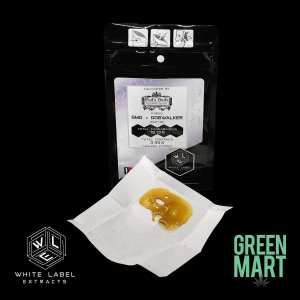 White Label Extracts - GMO x Dogwalker Shatter