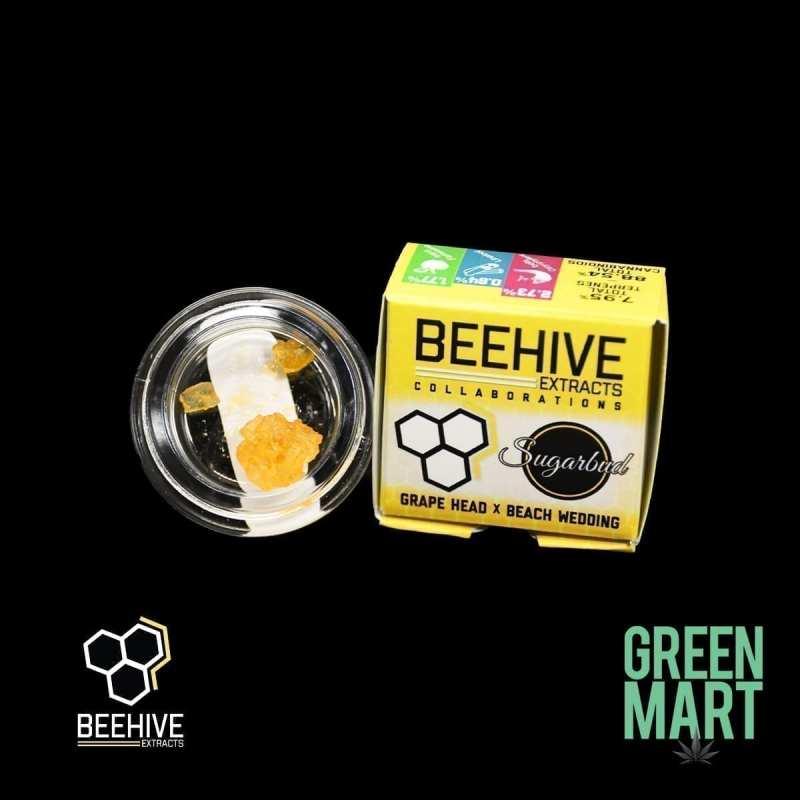 Beehive Extracts - Grape Head x Beach Wedding Diamonds Front