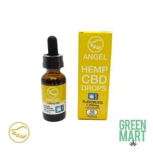 Angle Industries - Hemp CBD Drops Oregon Hemp Front