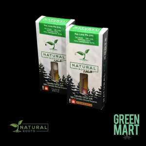 Natural Roots Extracts Cartridges - Key Lime Pie