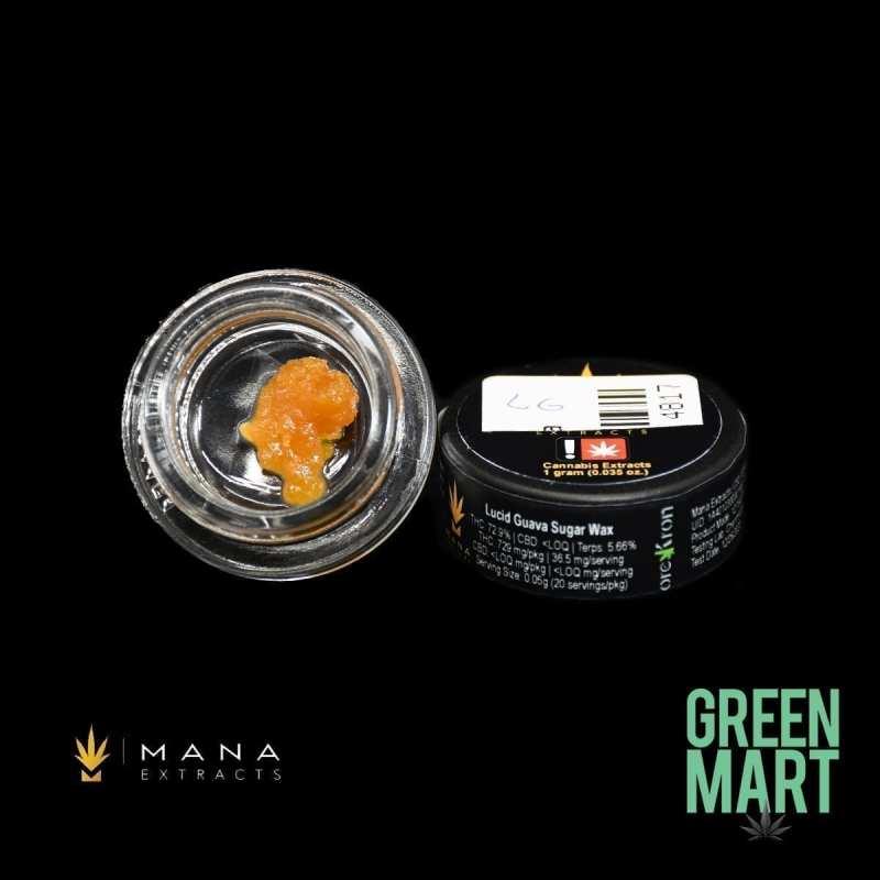 Mana Extracts - Lucid Guava Sugar Wax