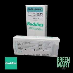 Buddies Brand Distillate Cartridge - Banana Mango Half G