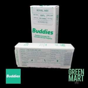 Buddies Brand Distillate Cartridge - Royal Mix Half Gram