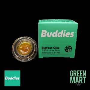 Buddies Brand Live Resin - Big Foot Glue Front