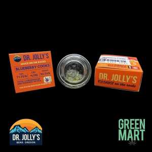Dr. Jolly's Extracts - Blueberry Cooks Front