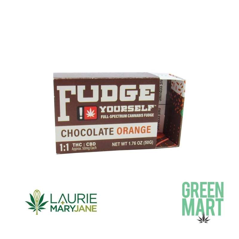 Laurie + MaryJane Chocolate Orange Fudge
