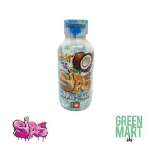Sips Coconut 1000mg Front