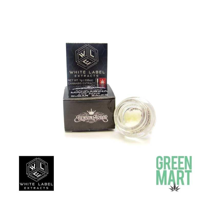 White Label Extracts - Mandarina Live Resin Sugar Sauce