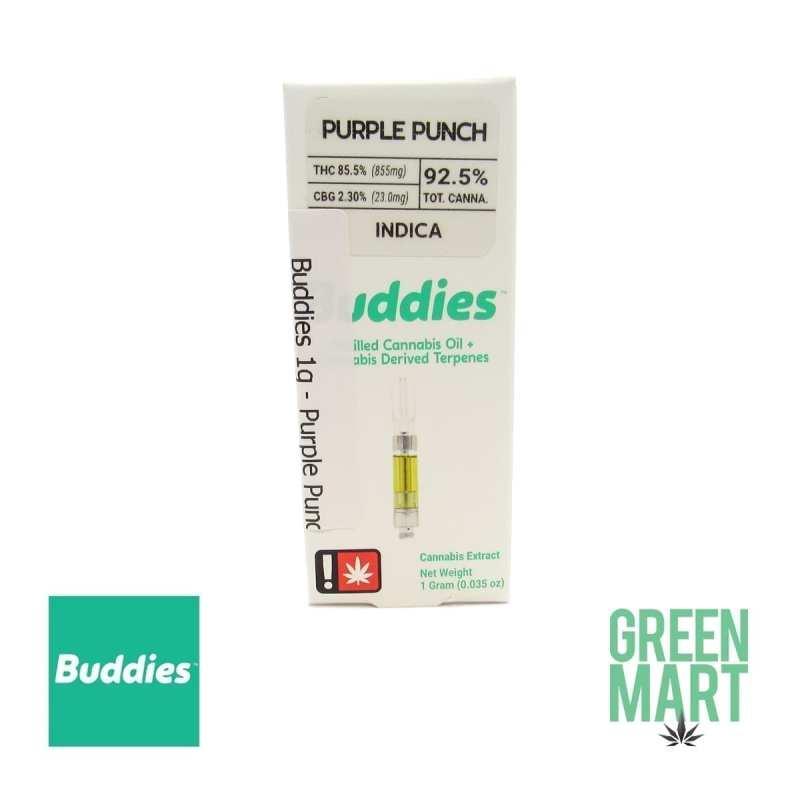 Buddies Purple Punch Cartridge