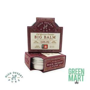 High Desert Pure - Big Balm
