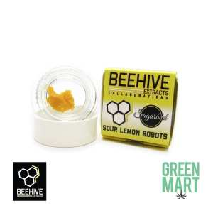Bee Hive Extracts - Sour Lemon Robots Badder