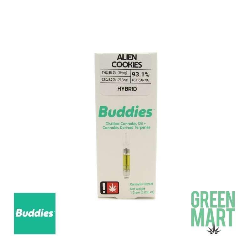 Buddies Brand Distillate Cartridge - Alien Cookies