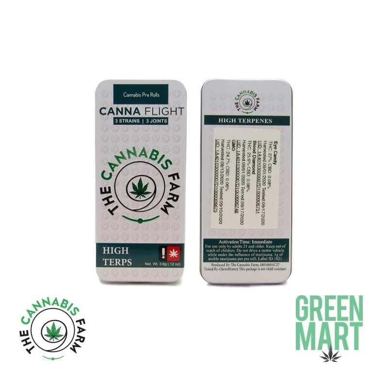 The Cannabis Farm CannaFlight 3 Pack - High Terps