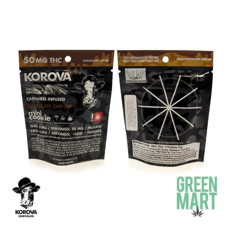 Korova - Chocolate Chip Dip Mini Cookie