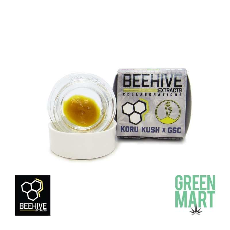 Bee Hive Extracts - Koru Kush X GSC