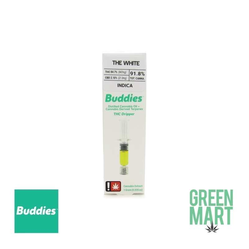 Buddies Brand THC Dripper - The White