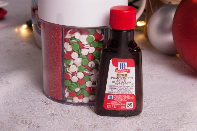 McCormick's Vanilla Extract and Walton's Holiday/Christmas Sprinkles