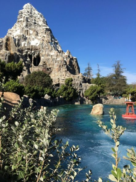Matterhorn Mountain and Finding Nemo's Submarine Voyage Lagoon