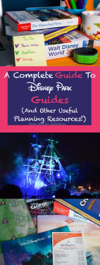 A guide to Disney guides (And other useful planning resources!)