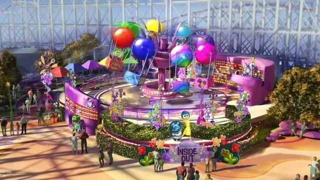 Inside Out Concept Art - Everything New Coming to Disneyland