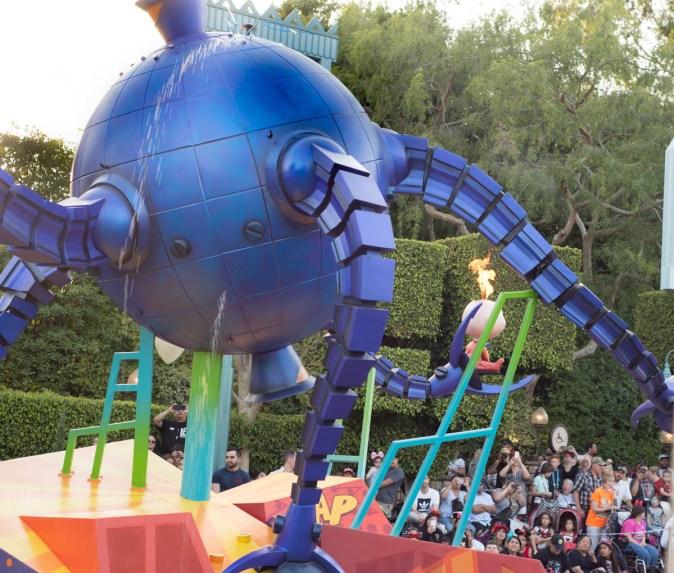 Jack Jack - Incredibles Float at the Pixar Play Parade in Disneyland