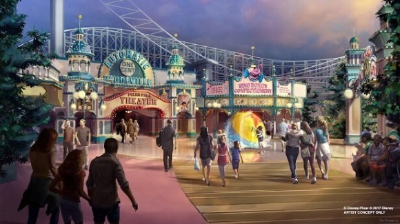 Pixar Pier Concept Art | Disney•Pixar/Disneyland Resort