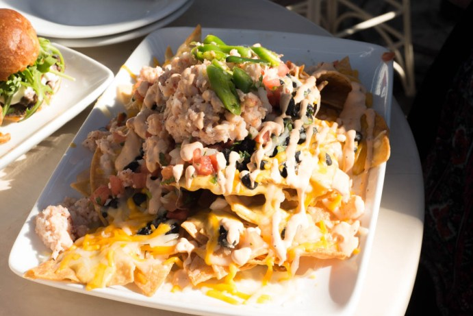 Lobster Nachos from Cove Bar now available at Lamplight Lounge - Tons to do at California Adventure for Adults #disneyland #vacation #planning