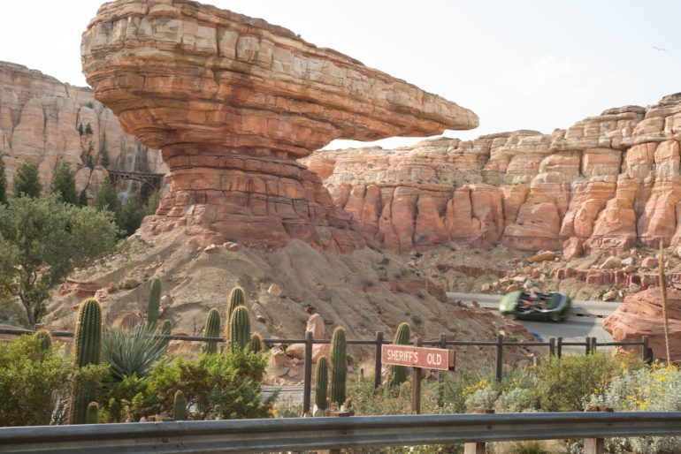 Radiator Springs - Tons to do at California Adventure for Adults #disneyland #vacation #planning