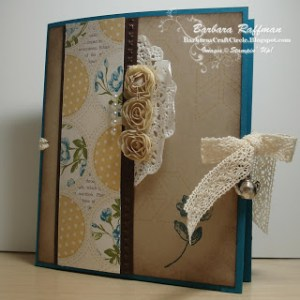 Spring Card Folio – Tea for Two