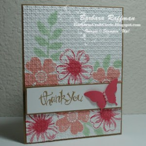 Flower Shop Card – In Color 2013-2015 Collection