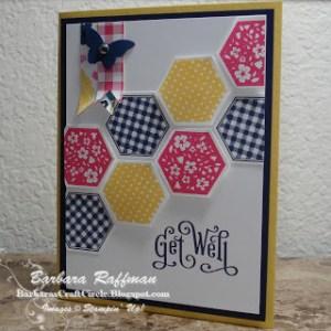 Six Sided Sampler Card – Hexagon Punch