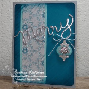Winter Frost Merry Card – Expressions Thinlits Die