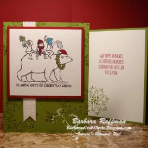 Bearing Gifts of Christmas Cheer