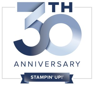2018 is Stampin' Up!'s 30th anniversary.