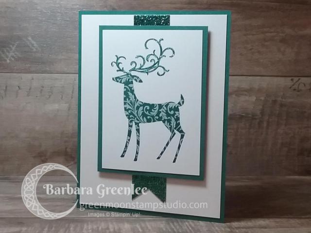 Dashing Deer stamp set