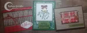 Christmas Card Stamp-A-Stack Class 2
