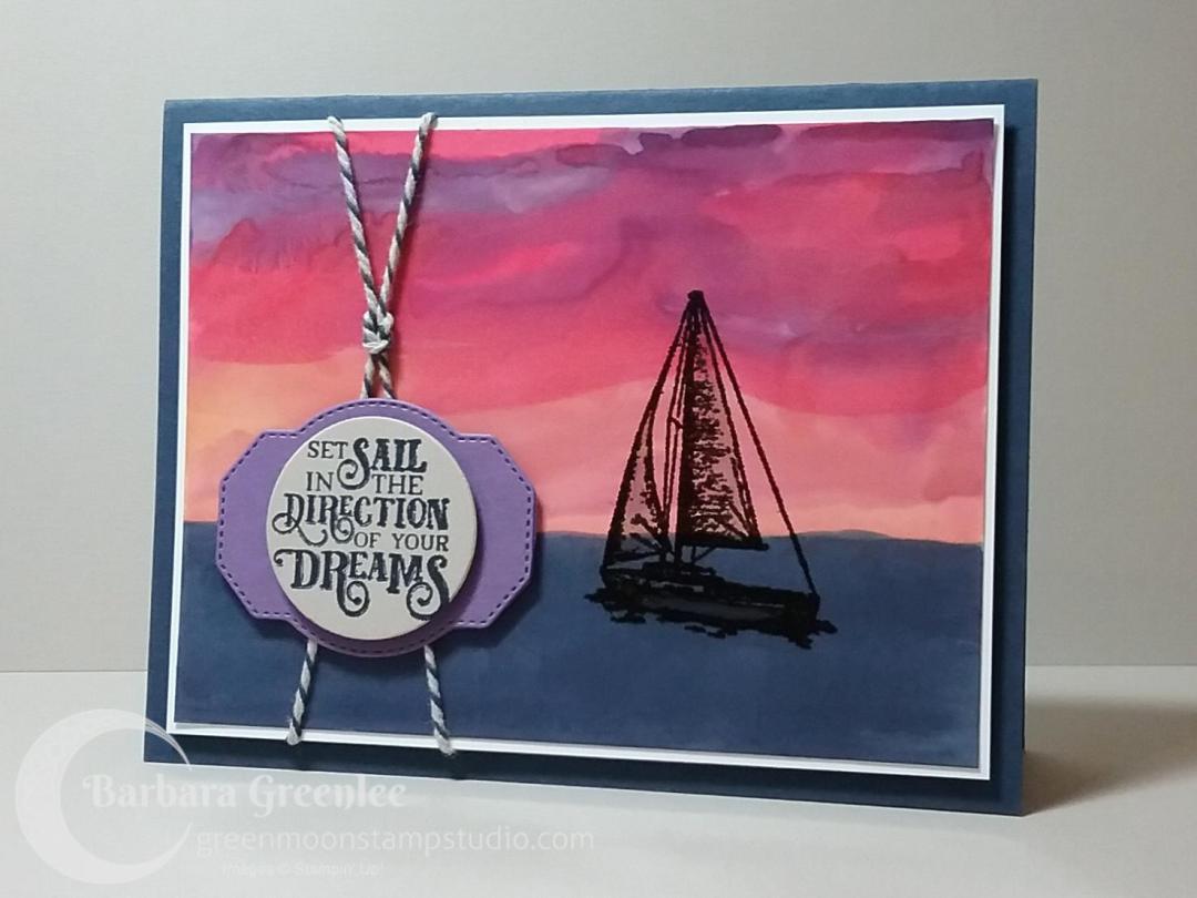 Sailing Home Sunset 4