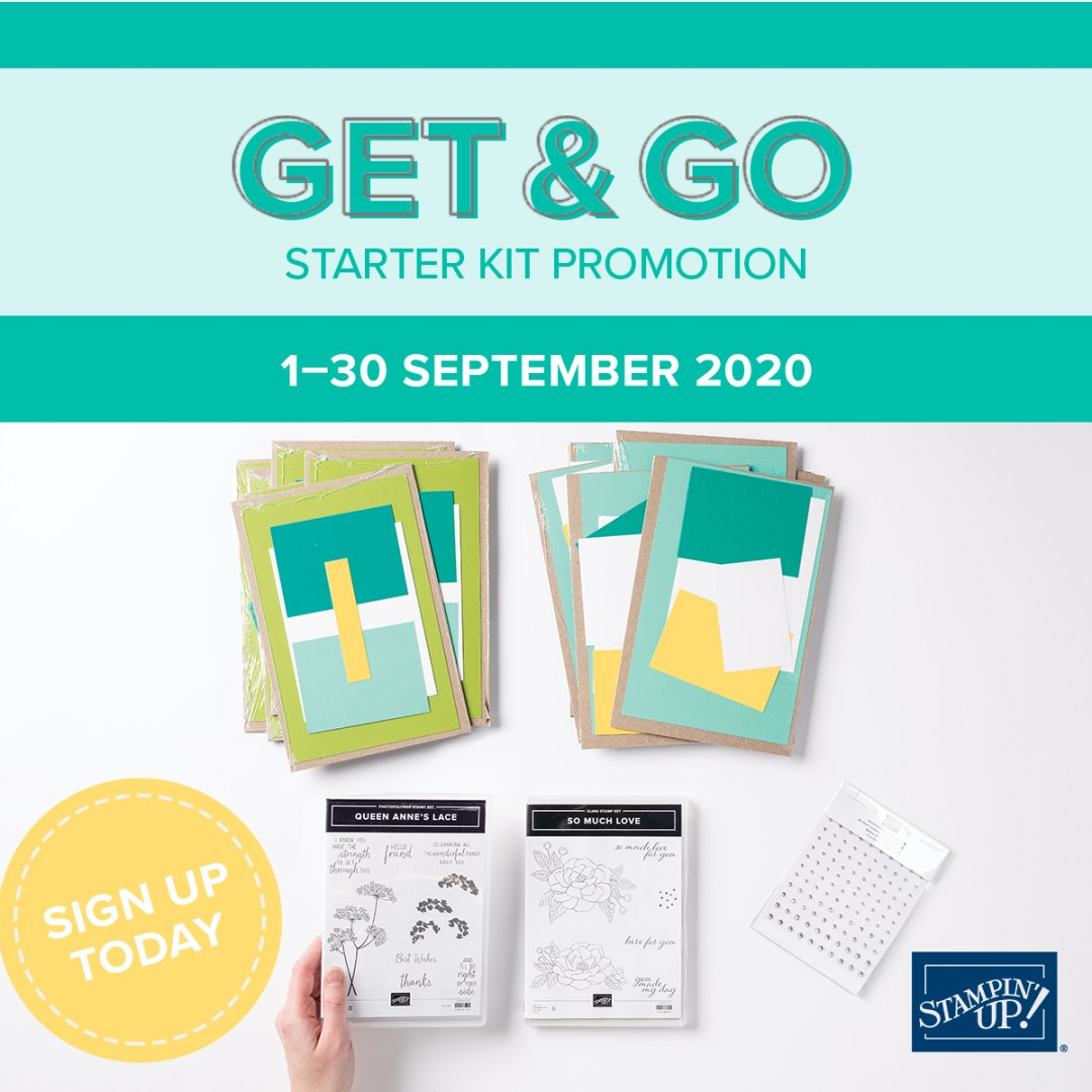 Get & Go Starter Kit extras in September
