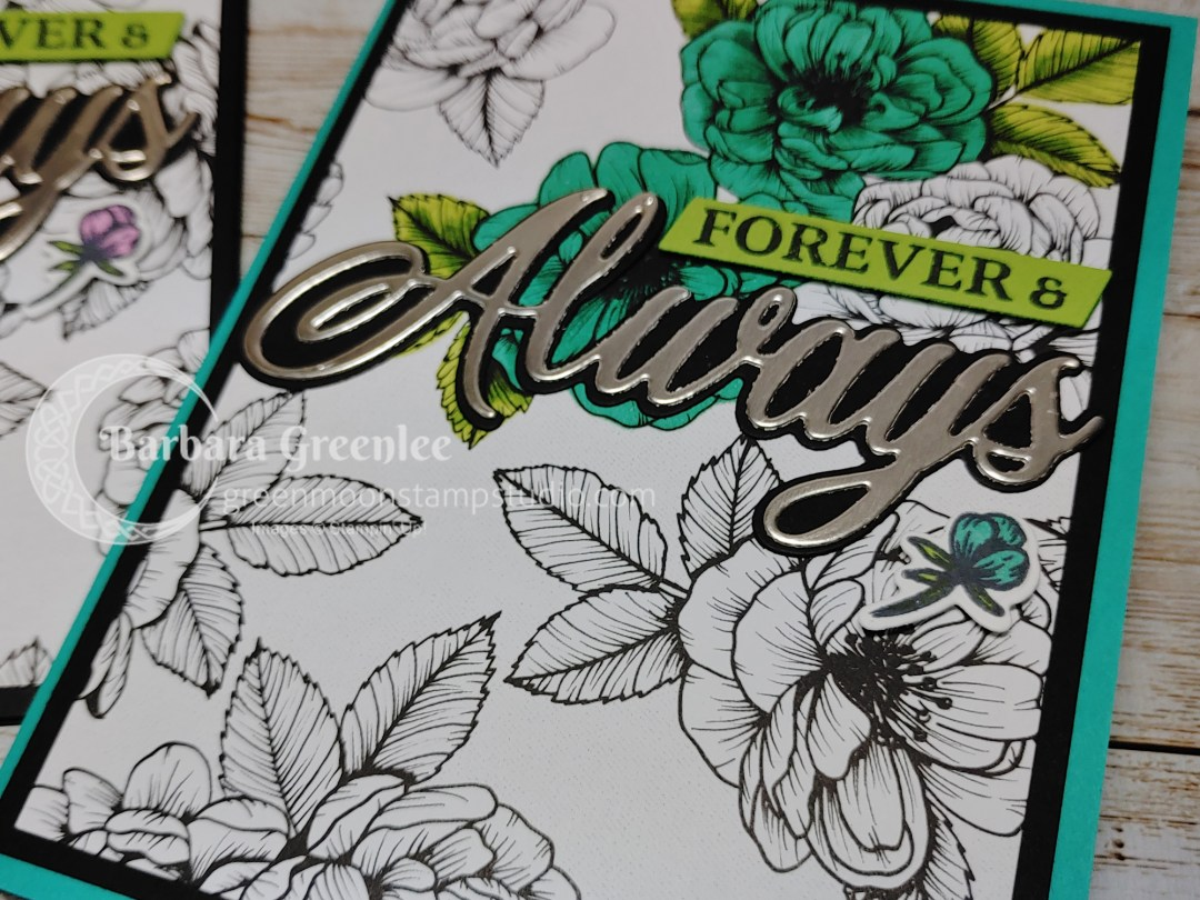 Forever & Always bundle from Stampin' Up! with the True Love Designer series paper.