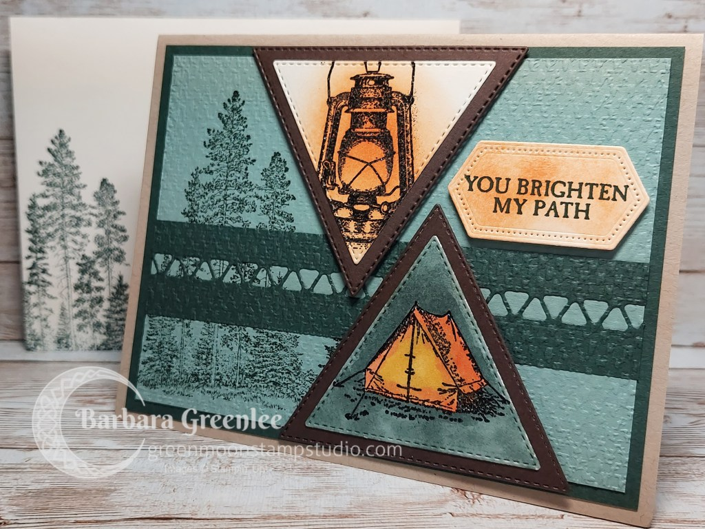 Campology Stampin Up masculine card