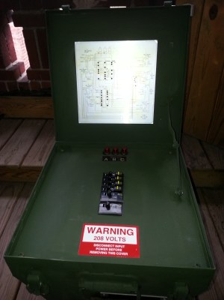Military Spider Distribution Box  Green Mountain Generators
