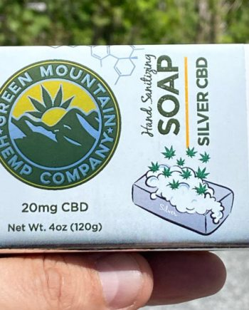 Green Mountain Hemp Comp Company Colloidal Silver and CBD Soap