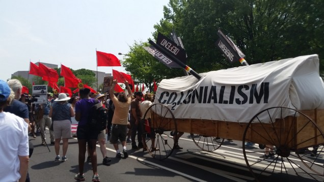 Colonialism wagon