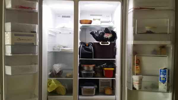 냉장고 청소방법
